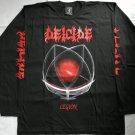 DEICIDE - Legion Long sleeve shirt Black (L) NEW Death Metal Glen Benton Asphyx Bolt thrower