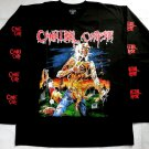 CANNIBAL CORPSE - Eaten back to life Long sleeve shirt Black (L) NEW Death Metal