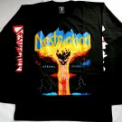 DESTRUCTION - Infernal overkill Long sleeve shirt Black (L) NEW Death Metal Sodom Kreator