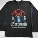 GORGOROTH - Ad majorem sathanas gloriam Long sleeve shirt Black (L) NEW Black Metal Burzum