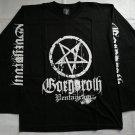 GORGOROTH - Pentagram Long sleeve shirt Black (L) NEW Black Metal Burzum