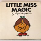Little Miss Magic by Roger Hargreaves Vintage Children's Book