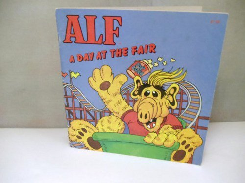 Vintage Children's Book Alf A Day At The Fair by Robert Loren Fleming