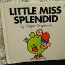 Vintage Little Miss Splendid Children's Book - Hardcover - Little Miss