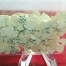 200 Pieces of Handmade Heart Confetti Punched Vintage Dictionary Scrapbooking