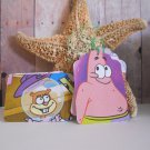 Spongebob and Friends Christmas Gift Tags - Upcycled - Decorate your kid's gifts