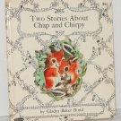 Whitman Book Chap and Chirpy Chipmunk 1965 - Squirrel Vintage Children's Book
