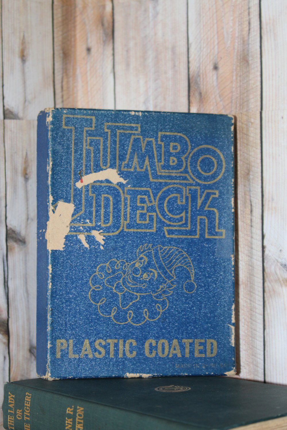 Vintage Jumbo Deck of Playing Cards Fun for family game night