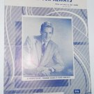 Sheet Music Now and For Always George Hamilton IV 1958 - piano - vocal