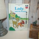 Walt Disney Lady and the Tramp 1981 Vintage Children's Book