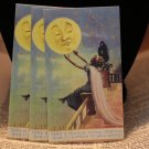 Woman Reaching for the Moon Romantic Jewelry Cards / Earring Cards / Place Cards