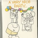 1980's Vintage Ziggy Party Invitations - Tom Wilson - Retro -80s Pop Culture