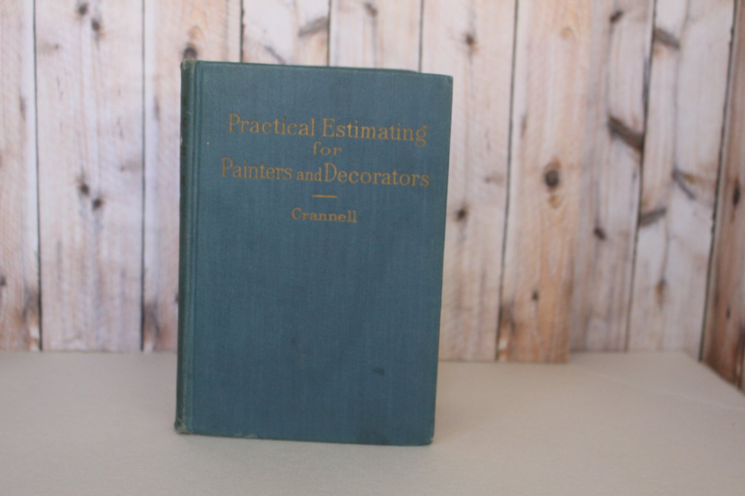 Practical Estimating for Painters and Decorators Hard Cover 1948 Vintage Book