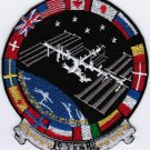 A decade in the lives of the International Space Station Embroidered Patch