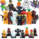 8pcs Joker Tauren Vampire Batman Super Hero Lego Minifigure Toy