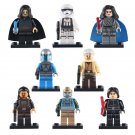 8pcs First Order Stormtroopers Gunner Turk Falso Star Wars Super Hero Lego Minifigure Toy