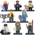 8pcs Sybill Trelawney Mad Eye Moody Dumbledore Harry Potter Lego Minifigure Toy