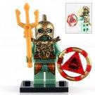 Atlantis Egypt Aquaman Super Hero Lego Minifigure Toy