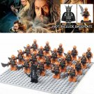 21pcs Mordor Orc Army Group Mouth Of Sauron Lord of the Rings  Lego Minifigure Toy