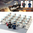22pcs Stormtrooper Kylo Ren The First Order Officer Star Wars Super Hero Lego Minifigure Toy