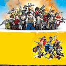16pcs New PUBG FPS Game Military war army Lego Minifigure Toys