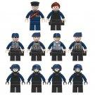 10pcs Military World War ww2 Army Military Lego Minifigure Toys