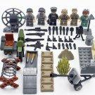 6pcs Desert Eagle Soldiers ww2 Army Military Lego Minifigure Toys
