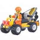 Small Crane City Contruction Team WW2 Army Military Lego Minifigure Toys
