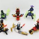 6pcs NinjaGo Masters of Spinjitzu WW2 Lego Minifigure Toys