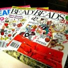 BEADS must have ILLuStrated buyers guide 3 MAGAZINE BooKs ultimate new BEADS