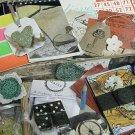 PoPPies Ephemera Vintage Paper 200 pc LOT Cards Tags DIY  journaL COllAge