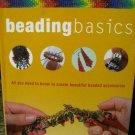 BEADING BASICS jewelry Art Book for creating beaded accessories DiY