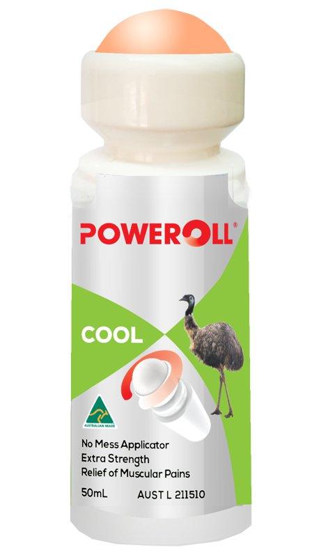 Poweroll Plus - Cool 50ml (Roll-On)