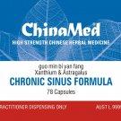 China Med - Chronic Sinus Formula