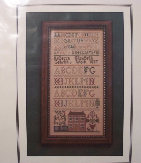 Rebecca Gelwick  1837  Sampler