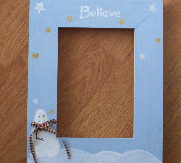 Christmas Frame   Believe