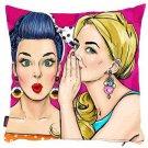 Best Friends Pillowcases, Girls Friendship Pillow Cover