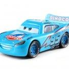 McQueen Blue Dinoco Cars Disney 1:55 Die Cast Metal Alloy Car Toy