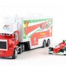 Truck Kingdom and Francesco Bernoulli Cars Disney 1:55 Die Cast Metal Alloy Car Toy