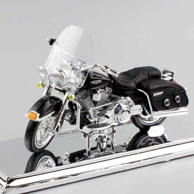Harley 2001 FLHRCI FLHRC Road King Classic Touring 1:18 Die Cast Metal Motorcycle Model