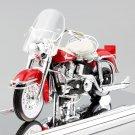 Harley 1962 FLH Duo Glide 1:18 Die Cast Metal Motorcycle Model