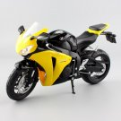 Honda Fireblade Repsol CBR1000RR Yellow 1:12 Die Cast Metal Motorcycle Model Miniature Sport Bike