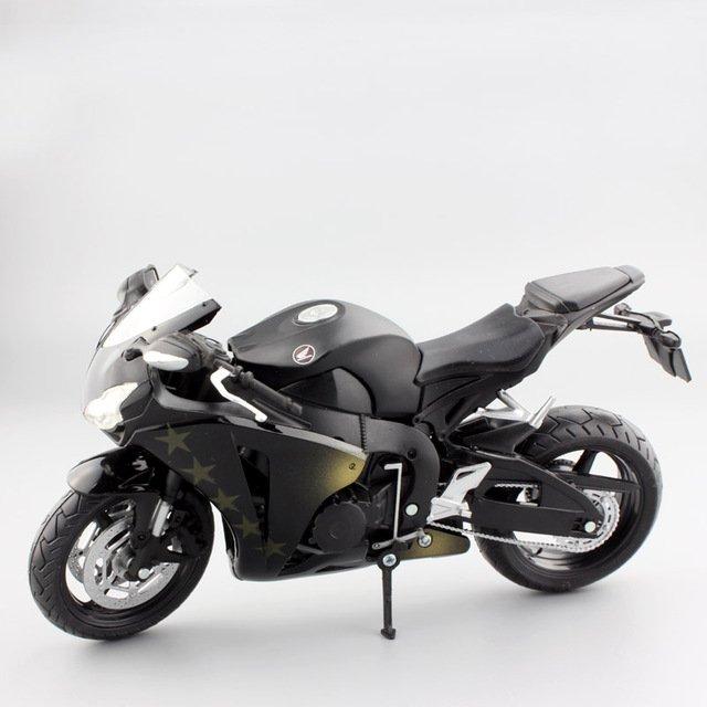 Honda Fireblade Repsol CBR1000RR Black 1:12 Die Cast Metal Motorcycle Model Miniature Sport Bike