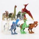 Marvel Toys Jurassic Park 2 Dinosaurs Model Plastic ABS 8pcs Building Assemble Blocks DIY