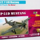 P-51D Mustang Air Plane Replica 1/72 Scale Diecast Model Toys
