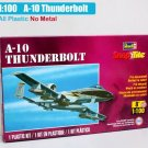 A-10 Thunderbolt Air Plane Replica 1/100 Scale Diecast Model Toys
