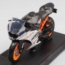 KTM RC390 1:18 Die Cast Metal Motorcycle Model Miniature KTM