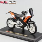 KTM 450 EXC Rally SXF Type 2 1:18 Die Cast Metal Motorcycle Model Miniature KTM