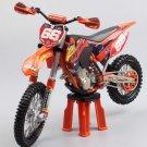 KTM 450 XC-F redbull No.66 1:12 Die Cast Metal Motorcycle Model Miniature KTM