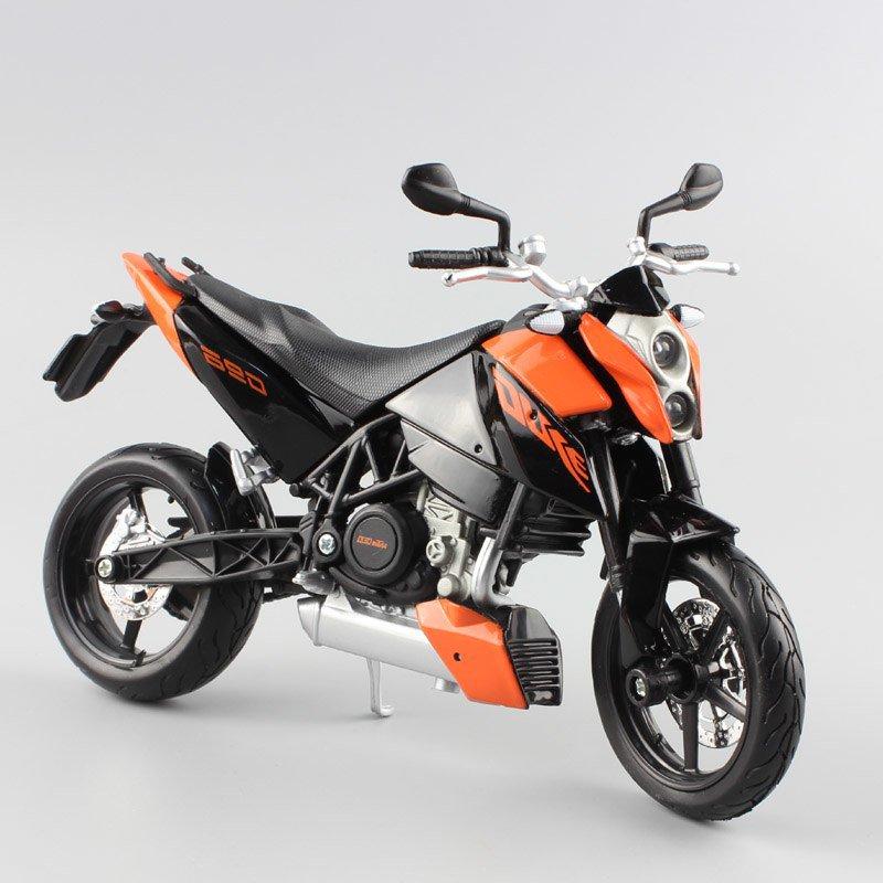 KTM 690 Duke Maisto 1:12 Die Cast Metal Motorcycle Model Miniature KTM Automaxx KTM 450 EXC 09